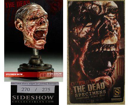The Dead スペシマン SPECIMAN 687M SIDESHOW サイドショウ スタチュー